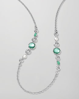 Ippolita Wonderland 2-Station Necklace, Mint