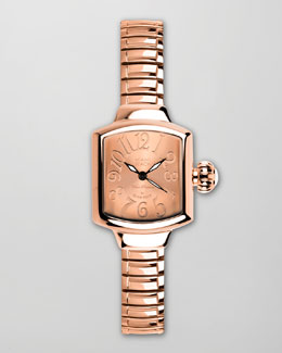 Miami Beach by Glam Rock Small Square Expand Watch, Rose Gold