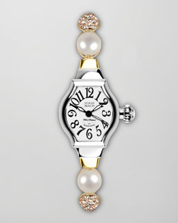 Miami Beach by Glam Rock Small Tonneau-Case Jewelry Watch