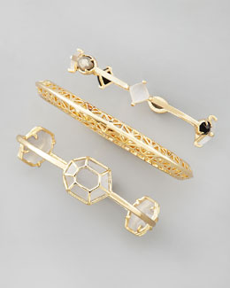 Kendra Scott Beverly Bangles, Set of Three