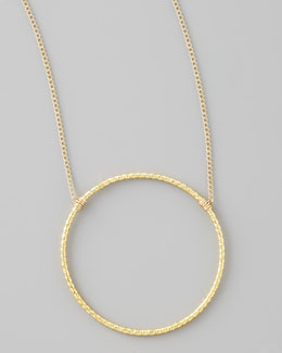 Dogeared Gold Sparkle Karma Necklace