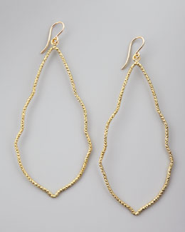 Dogeared Sparkle Moroccan Earrings, Gold