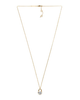 Michael Kors  Padlock Pendant Necklace