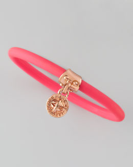 MARC by Marc Jacobs Chunky Rubber Bangle, Knockout Pink