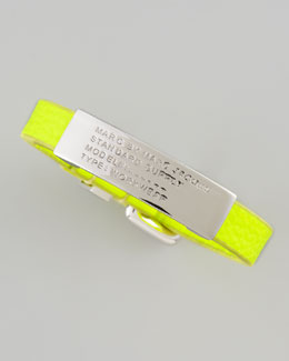 MARC by Marc Jacobs Standard Supply ID Bracelet, Safety Yellow