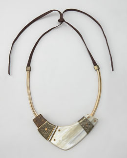 Lanvin Horn Necklace