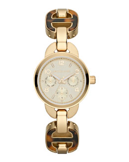 Michael Kors  Mini-Size Horn Acetate Chain Bracelet Watch