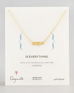 Dogeared Hope Chain Necklace