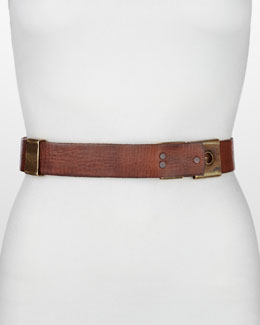 Donna Karan Metal Pieces Belt