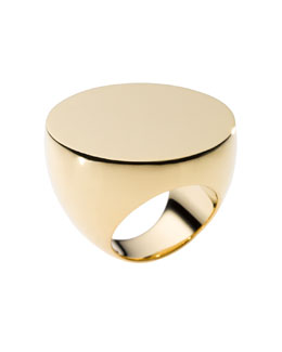 Michael Kors  Slice Ring, Golden