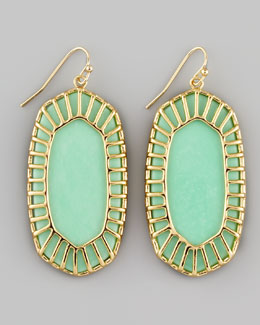Kendra Scott Dayla Small Drop Earrings, Seafoam