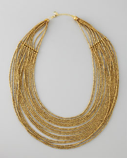 Nakamol Layered Beaded Necklace