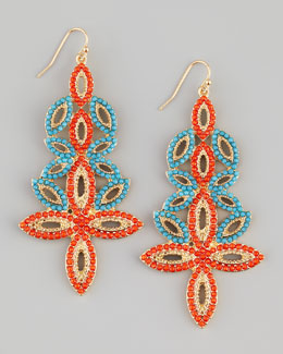 Panacea Beaded Drop Earrings