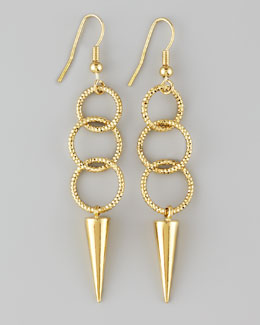 Panacea Link Spike Earrings