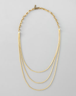 Vanessa Mooney Spaghetti Chorus Layering Necklace