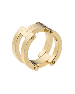 Michael Kors  Link Ring, Golden