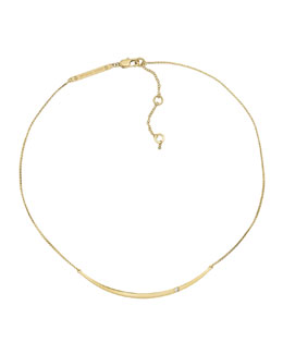 Michael Kors  Bar Necklace, Golden