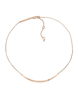 Michael Kors  Bar Necklace, Rose Golden