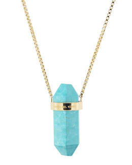 Michael Kors  Pendant Necklace, Turquoise