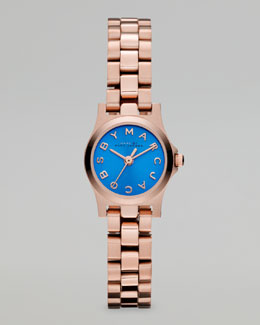 MARC by Marc Jacobs Rose Golden Sunray Watch, Maliblue