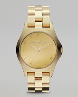 MARC by Marc Jacobs Yellow Golden Watch, 36.5mm