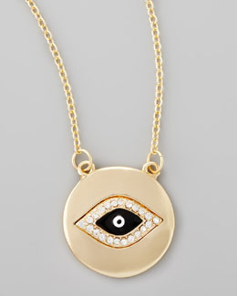 Jules Smith Evil Eye Pendant Necklace