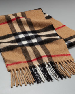 Burberry Children's Check Scarf