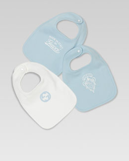 Gucci Three-Piece Bib Gift Set