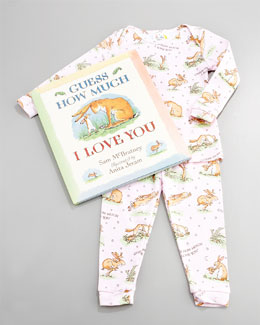 Books To Bed Guess How Much I Love You Pajama and Book Set, Infant
