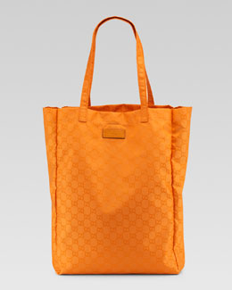 Gucci GG Brights Easy Tote Bag with Pouch, Marigold