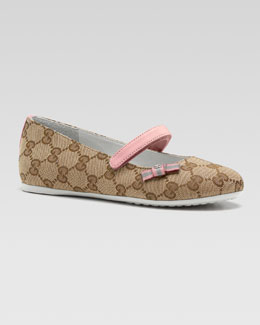 Gucci Child Interlocking G Ballerina