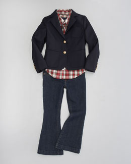 Ralph Lauren Childrenswear Doeskin Blazer