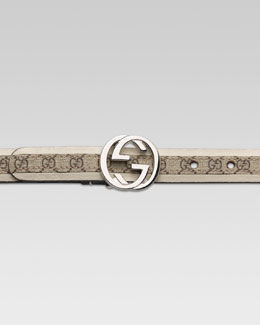 Gucci G Buckle GG Belt
