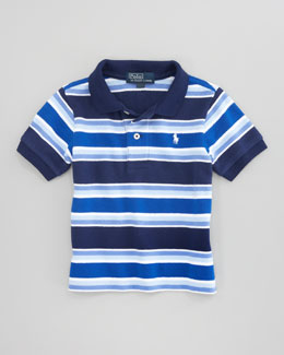 Ralph Lauren Childrenswear Striped Short-Sleeve Polo