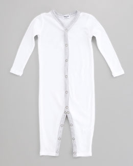Splendid Littles Snug-Fit Playsuit, White