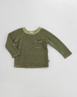 Splendid Littles Double-Faced Striped Shirt