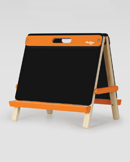 P'kolino Playful, Double-Sided Table-Top Easel, Orange