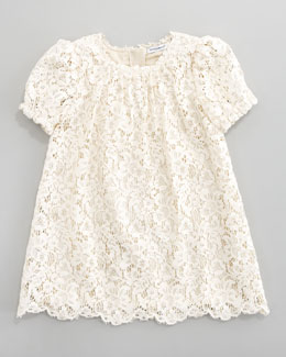 Dolce & Gabbana Lace A-Line Dress, Sizes 8-10