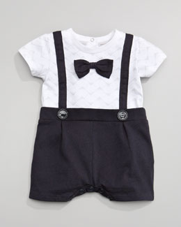 Armani Junior Bow-Tie Playsuit