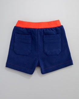 Little Marc Jacobs Urban Chic Fleece Shorts