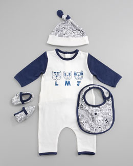 Little Marc Jacobs Four-Piece Gift Playsuit