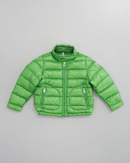 Moncler Acorus Packable Jacket, Sizes 8-10