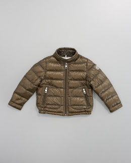 Moncler Acorus Packable Jacket, Sizes 4-6