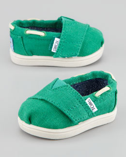TOMS Bimini Tiny Shoe, Earthwise Green