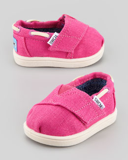 TOMS Tiny Earthwise Bimini Shoe, Cranberry