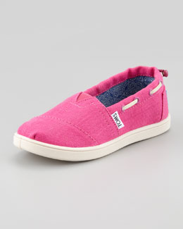 TOMS Earthwise Cranberry Bimini Shoe, Youth
