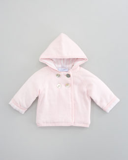 Tartine et Chocolat Tribord Double Hooded Jacket, Rose Pale