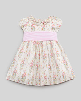 Ralph Lauren Floral-Print Seersucker Dress, 12 - 24 mo.