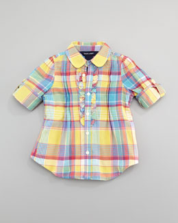 Ralph Lauren Childrenswear Plaid Tunic
