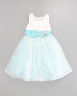 Zoe Sequin Sparkle Dress, Sizes 2-6
